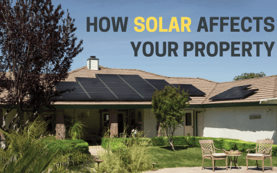 How solar affects your property