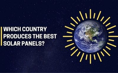Which country creates the best solar panels?